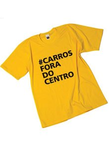 Camiseta Carros Fora Do Centro